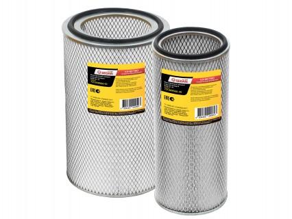 Комплект воздушных фильтров КАМАЗ (элементы) 721-1109560 (ВЭФ721-10/ВЭФ721-30) Евро-2